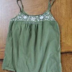 Lucky Brand Olive Green Tank